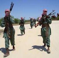 Al-Shabaab, a militant Islamic group based in Somalia.