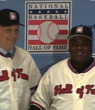 Tony Gwynn inducted into Major League Baseball Hall of Fame