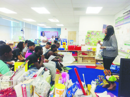 The No Time for Crime, Drugs or Alcohol Youth Summit took place at Savoy Elementary School in Southeast on May ...