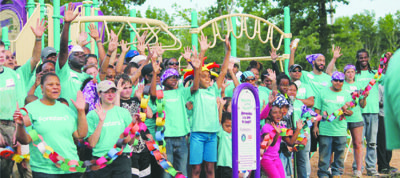 The Seabrook Elementary School community in Upper Marlboro has been revitalized with a new playground recently built on the school ...