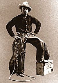 Oregon black pioneer and rodeo star George Fletcher.
