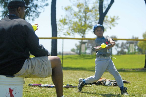 Camp held at Ladera Little League Fields
