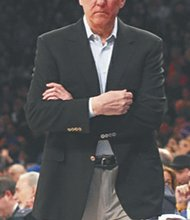 """Gregg """"Pop"""" Popovich led the Spurs to their fifth NBA championship, a 104-87 win over the Miami Heat."""