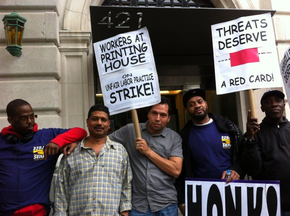 Building workers at a luxury apartment building in Manhattan's West Village have decided to go on strike.