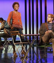 "LaChanze as Kate and Anthony Rapp as Lucas in ""If/Then"""