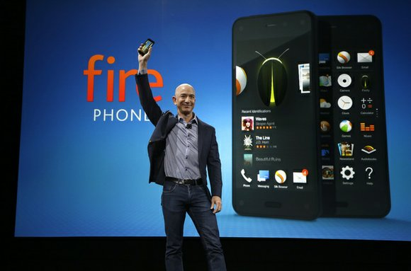 Amazon's CEO Jeff Bezos unveiled the Fire Phone at a recent event in Seattle. Already it is proving to be ...