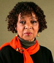 Actress and civil rights activist Ruby Dee