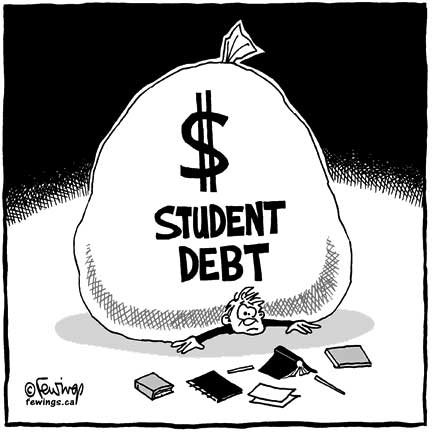 "According to a report released last week, ""Taking Action: Higher Education and Student Debt,"" California has more people with federal ..."