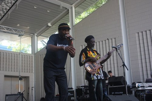 Shrine, Silvana, and Marcus Garvey Park were packed this weekend for the 8th annual Mafrika Music Festival.