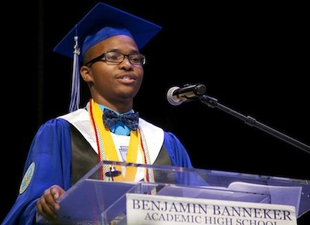 The newest graduates of Banneker High School wouldn't have made it without the support of their parents, teachers, administrators and ...