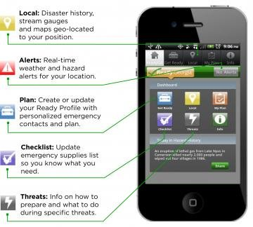 The Ready Georgia mobile app has been upgraded for residents who want to stay informed during emergencies.