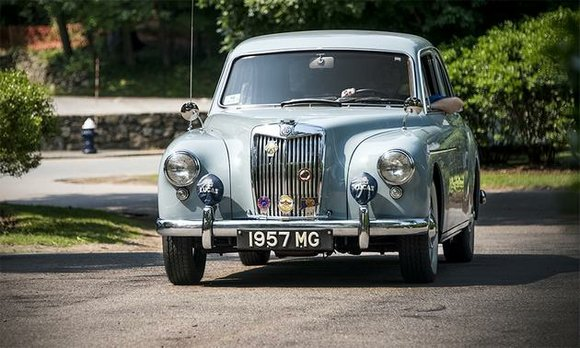 British cars to rally at larz anderson auto museum this for Classic motor cars of ellington