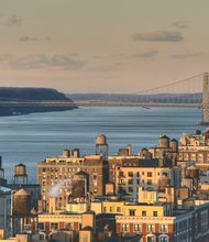 A creative Commons Photo of Upper Manhattan on a Late Winter Afternoon