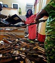 Gabon's war on guns