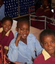children of Botswana