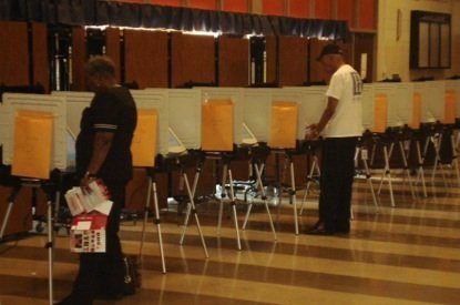 Voter turnout in Prince George's County continued at a slow pace Tuesday during the Maryland primary election.