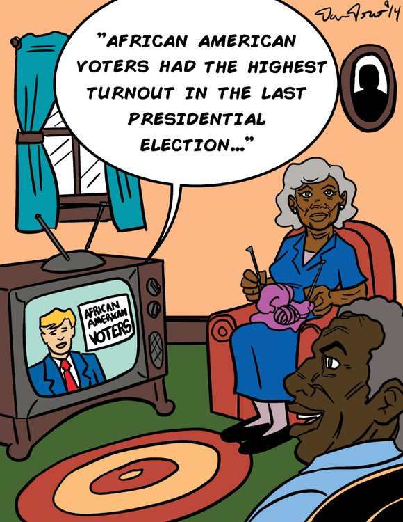 African Americans are key voting block and their votes can make the difference in a close election. In the presidential ...