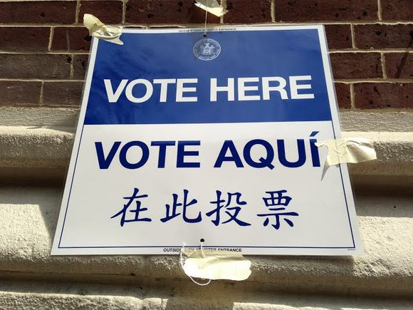 New Yorkers can officially begin heading to the polls. NY polls will be open from 6 a.m. until 9 p.m.