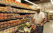 """""""I grew in this neighborhood and have lived here for 40 years. This is a blessing to have this grocery store here. In the past, I had to take public transportation to get to one.""""--Tem Hunter"""