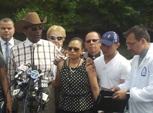 Parents of the two children who drowned over the weekend in the Bronx's Starlight Park pleaded with the city for ...