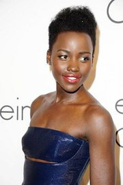 Actress Lupita Nyong'o wears her hair natural. — Photo by Arthur Mola/Invision/AP