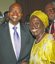 District Attorney Ken Thompson and Council Member Inez Barron
