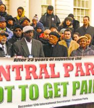 "The ""Central Park Five"" (Antron McCray, Kevin Richardson, Yusef Salaam, Raymond Santana)"