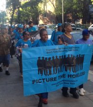 Picture the homeless rallies