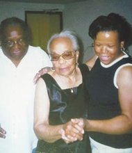 Verna White (center) with her daughter Ginger (left) and her granddaughter Denise. Verna passed away on Monday, June 9, 2014 at the age of 96.