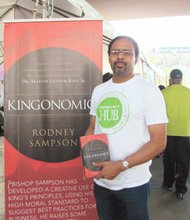 Author Rodney Sampson