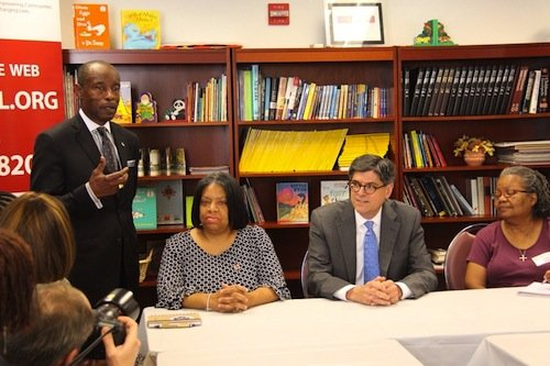 The Greater Washington Urban League hosted Treasury Secretary Jacob J. Lew to meet with D.C. homeowners and GWUL housing counselors.