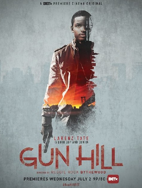 Larenze Tate stars in a new film called Gun Hill, premiering on BET tomorrow night (July 2) at 9pm