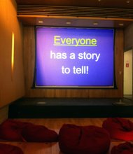 """Everyone has a story to tell."""