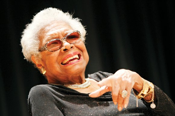 """The heart-stirring work of the late poet laureate Maya Angelou will be read on July 15 in """"The Horizon Leans ..."""