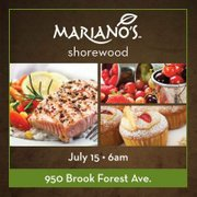 Mariano's announced the opening date for its Shorewood store on Facebook.
