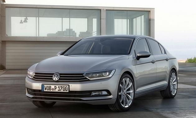 Volkswagen unveils 2015 Passat for Europe  Houston Style Magazine