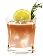 Blushing Rosemary Margarita
