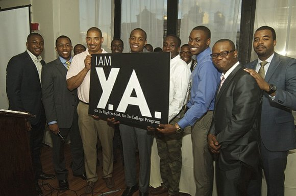 "The Metro-Manhattan chapter of the Links and Alpha Gamma Lambda Chapter Alpha Phi Alpha Fraternity held the 15th annual ""Graduation ..."