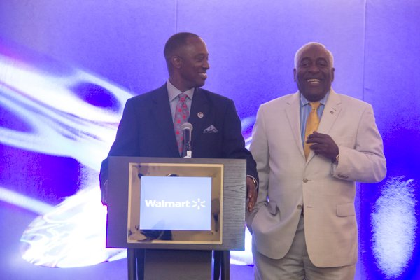 The U.S. Black Chambers School of Chamber and Business Management luncheon held at the new Black-owned Marriott Marquis in Northwest on Thursday, July 10.