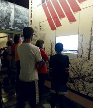 The museum incorporates a wide array of extensive comprehensive exhibits examining every facet of the war.