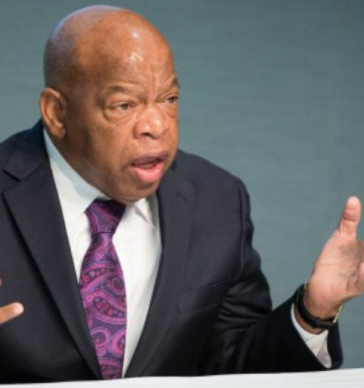 Rep. Civil rights leader John Lewis, discusses his role in the Civil Rights Movement 