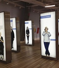 New civil and human rights center opens in Atlanta: Display featuring human rights activists from around the world