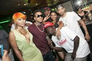 "Just Brittany, Kirko Bangz, Miss Mykie, and Lil Keke at Hennessy V.S, 7Thirteen and Swisha House Records' Houston's ""Money Don't Sleep"" Listening Event"