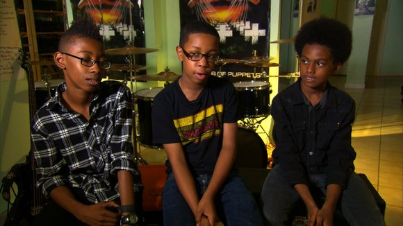 A trio of middle school rockers has just unlocked a major record deal.
