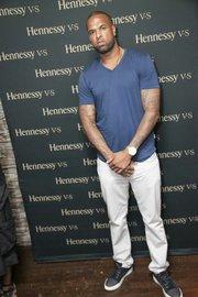 "Slim Thug at Hennessy V.S, 7Thirteen and Swisha House Records' Houston's ""Money Don't Sleep"" Listening Event"