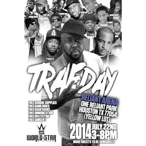 Trae Tha Truth's set to bring all of the star power for this year's edition for Trae Day. Who's performing? ...