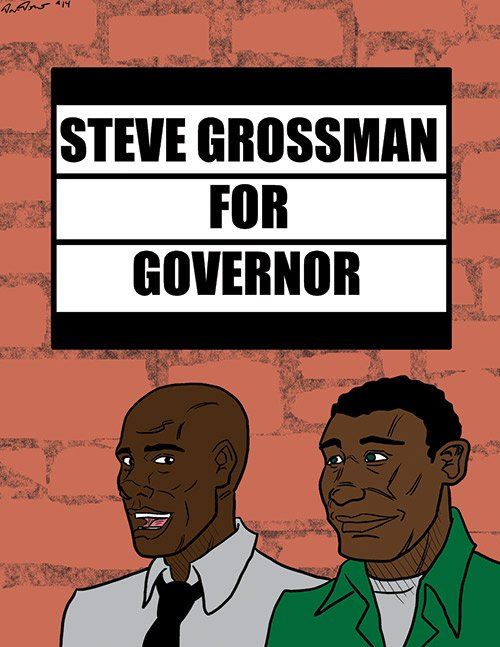 Banner endorses Steve Grossman's campaign for governor