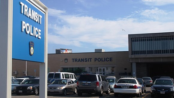 An MBTA police officer was demoted after a posting a racist message on his Facebook page.