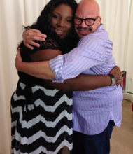 Rachel Jentel and Tom Joyner