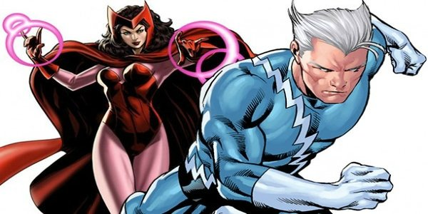 Quicksilver And Scarlet Witch Lovers In Avengers: Age Of Ul...